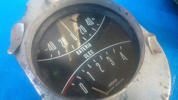 Marcador Bateria E Óleo Aero Willys Exc Estado Raro!!