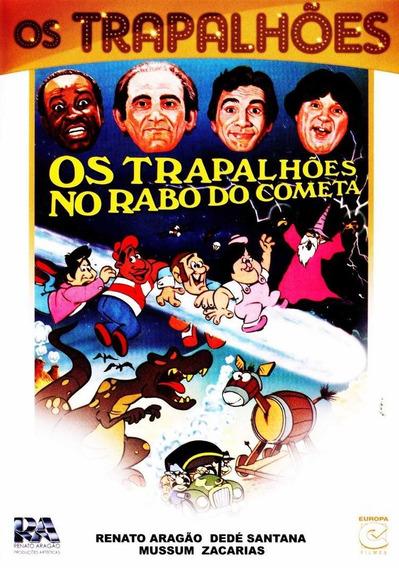 Os Trapalhões No Rabo Do Cometa - Dvd - Renato Aragão