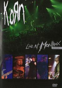 Dvd Korn - Live At Montreux 2004