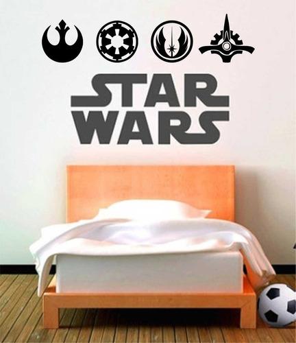 Adesivo De Parede - Star Wars - Dartwader - Jedy - Guerra