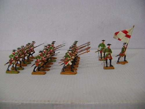 Nico Increible Desfile Militar 21 Soldados De Plomo (pmv 42)