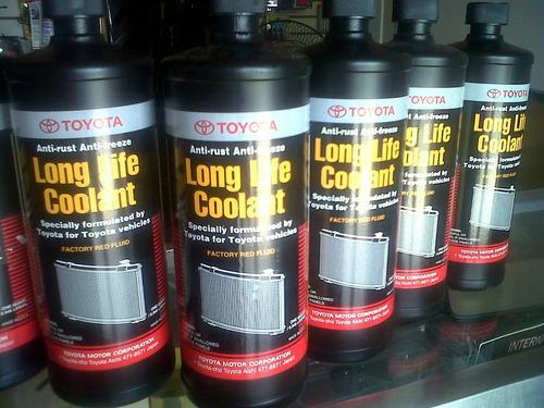 Refrigerante Toyota Long Life Coolant Origin 1lt Concentrado