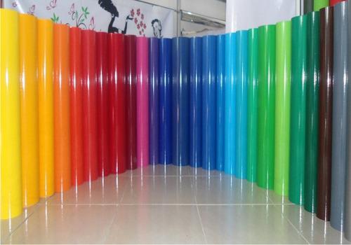 Rollo X10m  Vinilo Autoadhesivo O Contact  De Colores