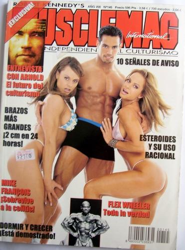 Fisicoculturismo Muscle Mag Numero 145 Revista Magazine