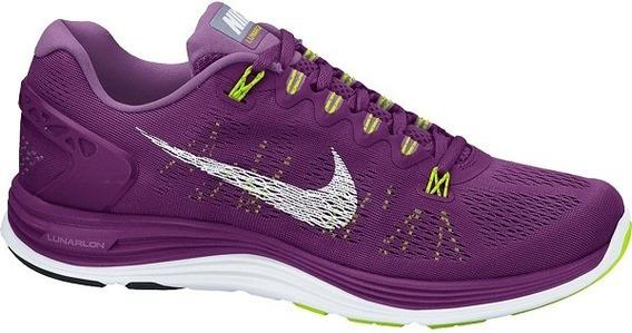 Tenis Nike Lunarglide 5 Running Dama - New