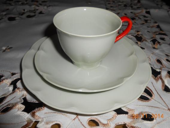 Trío De Café Theodore Haviland Limoges, 1900-1925.