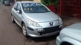 Sucata Peugeot 307 1.6 16v 2008