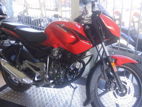 Bajaj Rouser 135 0km Color Negro Modelo 2018 Zeta Motos
