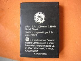 Bateria Para Camera Ge E 1040 Semi-novas 100%