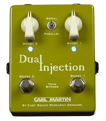 Carl Martin Dual Injection - Two Boost In One Pedal