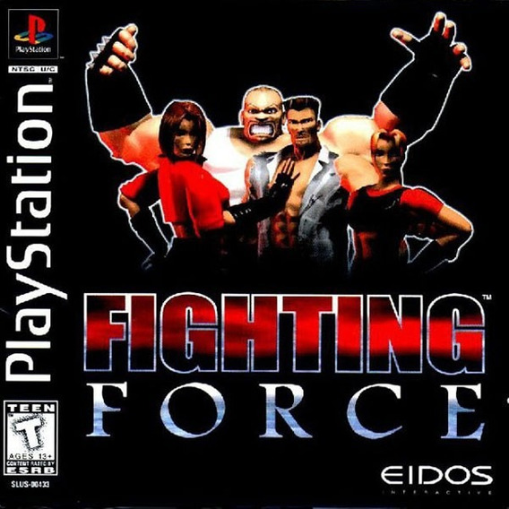 Patch Fighting Force Ps1/ps2 ( Pague 1 E Leve 5 )