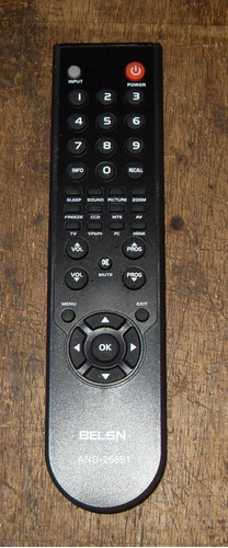 Control Remoto Genérico Nuevo Para Tv Lcd Belson
