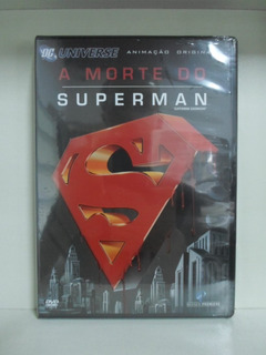 Dvd A Morte Do Superman - Lacrado - Original