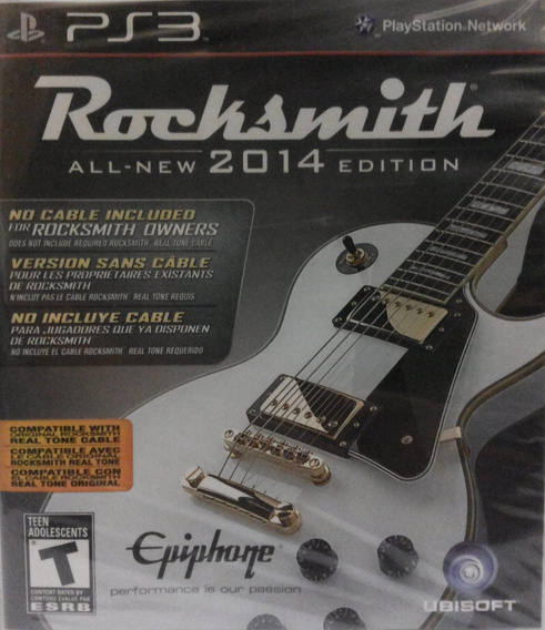 Rocksmith All New 2014 Edition Ps3