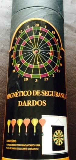 Jogo De Dardos Magnéticos - Seguro E Elegante