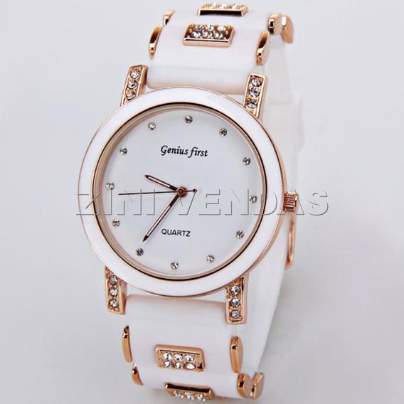 Relógios De Pulso Feminino Genius First Barato