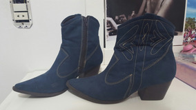 Bota Country Texana Azul N.39 Veste 38