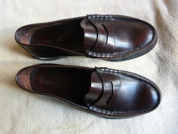 Zapatos Mocasines Cuero Febo Hombre Nro. 42