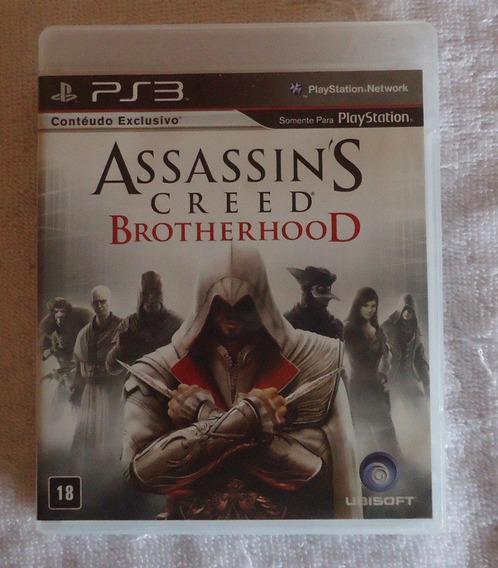 Assassins Creed Brotherhood Ps3 ** Leia Frete Grátis