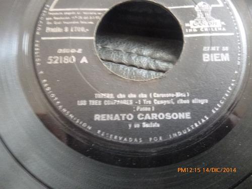 Vinilo Single De  Renato Carosone- Pequeña Serenat( S114