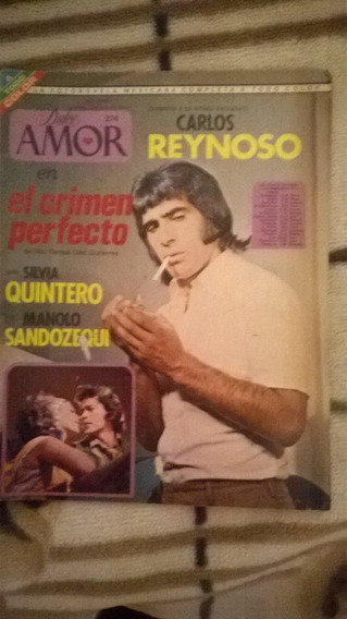 Carlos Reynoso,silvia Quintero En: Fotonovela Dulce Amor