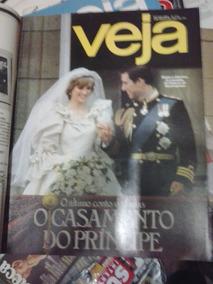 Revista Veja Casamento De Princesa Diana