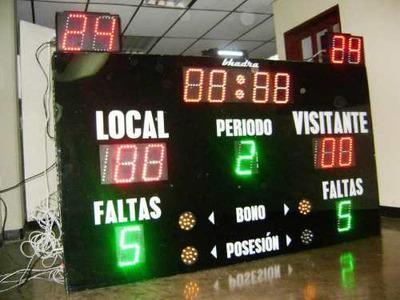 Pizarras Deportivas, Pantallas Led, Relojes, Cronómetros
