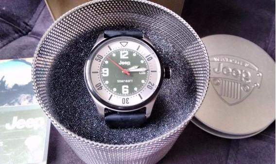Relógio De Pulso Jeep Earthcolors - Pronta Entrega