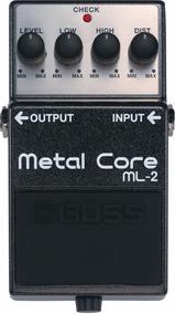 Pedal Boss Ml2 Metal Core