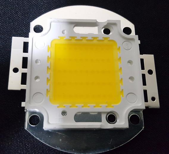 Chip Super Led 50w - 1500ma - 100% - Quente P/ Refletor 50w