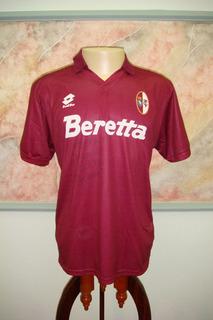 Camisa Futebol Torino Turim Italia Lotto Antiga 978