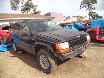 Sucata Peças Gran Cherokee 6cc Gasolina 1992/1993