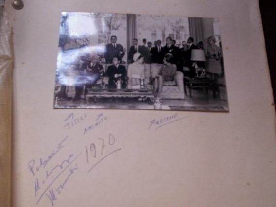Raro Álbum Fotografias Governantes Brasileiros Família Japão