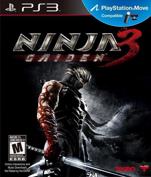 Jogo Ninja Gaiden 3 Ps3 Playstation 3 Mídia Física Original