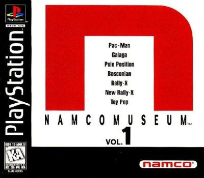 Namco Museum Collections Volume 1,2,3,4,5 - Playstation 1