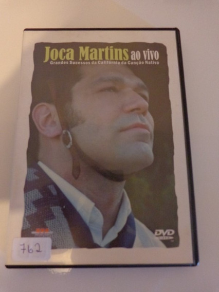Dvd Joca Martins Ao Vivo - Original