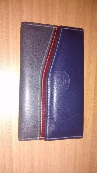 Monedero Billetera De Eco Cuero 18cm