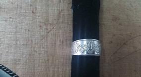 Anel Em Prata 925 Flor De Lótus Regulável Egito Antigo !!