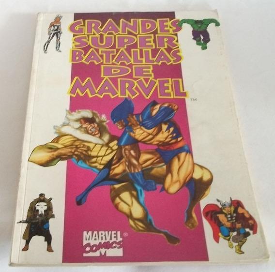 Kcg Grandes Super Batallas De Marvel Especial Vid