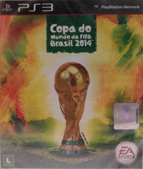 Copa Do Mundo Da Fifa Brasil 2014 Ps3 Lacrado De Fábrica