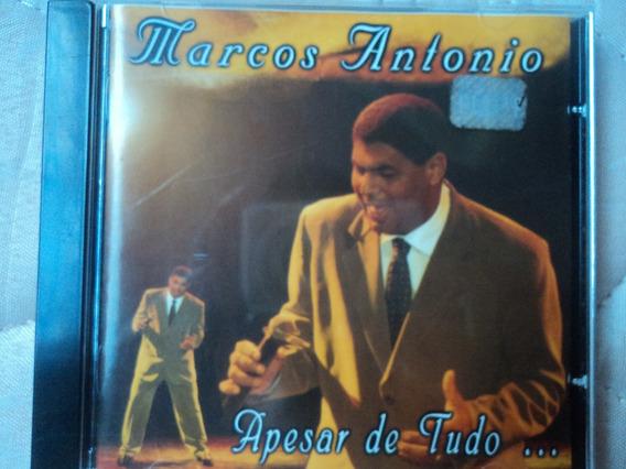 Cd Marcos Antonio Apesar De Tudo Raridade Gospel Evangélico
