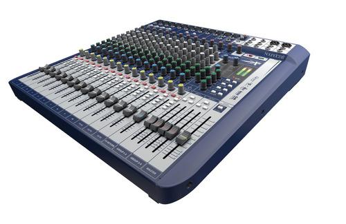Soundcraft Signature 16 Consola 16 Canales Usb Efecto Gb30