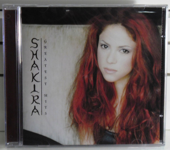 Shakira Greatest Hits Dance Pop Rock Funk Cd Lacrado Fabrica