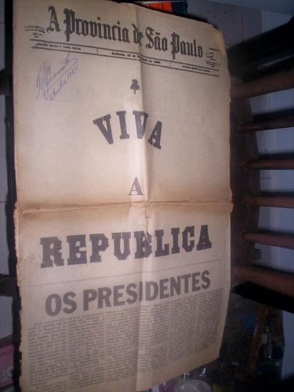 Jornal O Estado De Sp Republicação Presidentes Republicanos