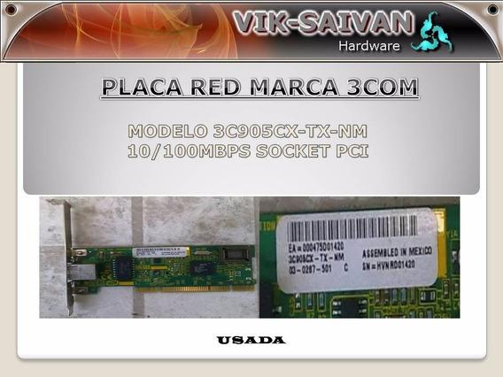 Placa De Red 3com 3c905cx-tx-nm 10/100 Pci 25