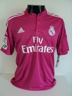 Camisa Real Madrid Away 14-15 James 10 Patch Lfp Importada