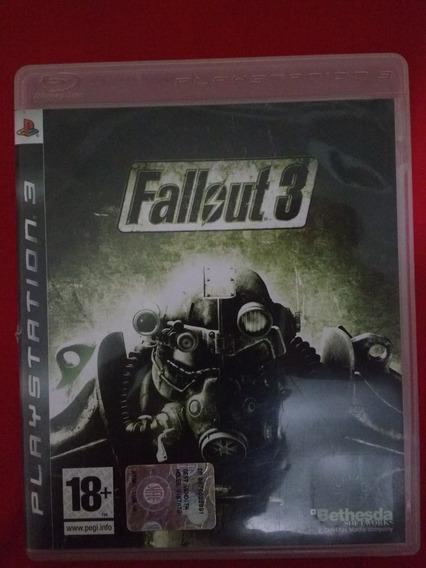 Jogo Fallout 3 Ps3 Fisica Frete:r$10