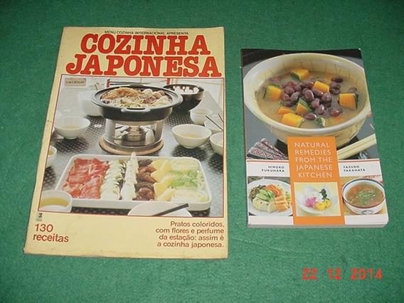 * 2 Livros Para Cozinha Japonesa *