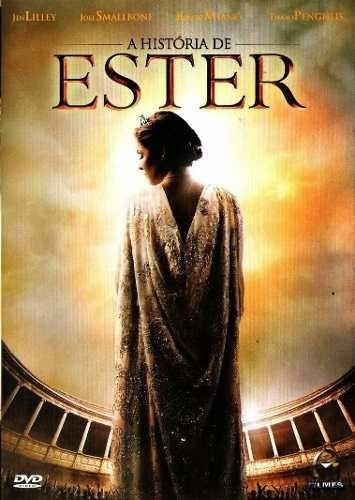 A História De Ester - Dvd - Graça Filmes - Original