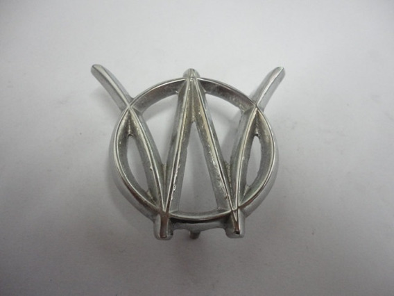 Emblema Lateral Da Coluna Aero Willys Itamaraty